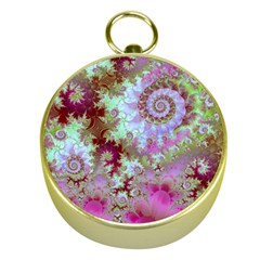 Raspberry Lime Delighraspberry Lime Delight, Abstract Ferris Wheel Gold Compass