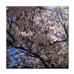 Sakura Tree Ceramic Tile