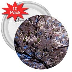 Sakura Tree 3  Button (10 pack)