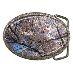 Sakura Tree Belt Buckle (oval)