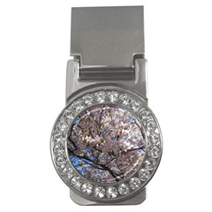 Sakura Tree Money Clip (cz)