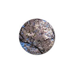Sakura Tree Golf Ball Marker 4 Pack
