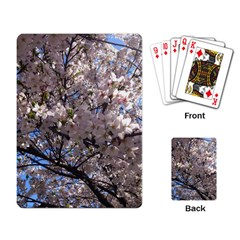Sakura Tree Playing Cards Single Design