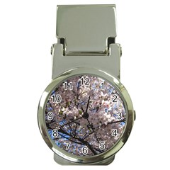 Sakura Tree Money Clip With Watch