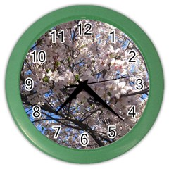 Sakura Tree Wall Clock (Color)