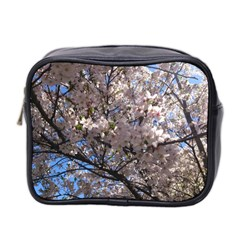 Sakura Tree Mini Travel Toiletry Bag (two Sides)