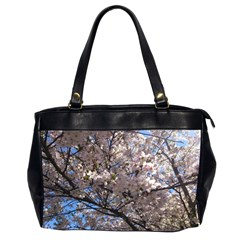 Sakura Tree Oversize Office Handbag (two Sides)