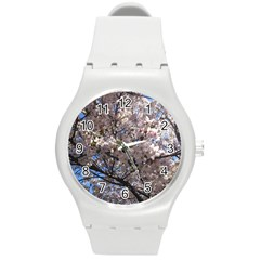 Sakura Tree Plastic Sport Watch (medium)