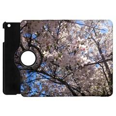 Sakura Tree Apple iPad Mini Flip 360 Case