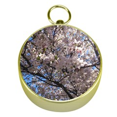 Sakura Tree Gold Compass