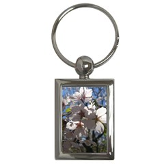 Cherry Blossoms Key Chain (Rectangle)