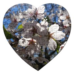 Cherry Blossoms Jigsaw Puzzle (Heart)