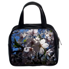 Cherry Blossoms Classic Handbag (two Sides)