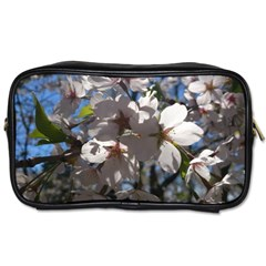 Cherry Blossoms Travel Toiletry Bag (two Sides)