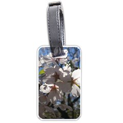 Cherry Blossoms Luggage Tag (Two Sides)