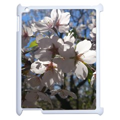 Cherry Blossoms Apple Ipad 2 Case (white)