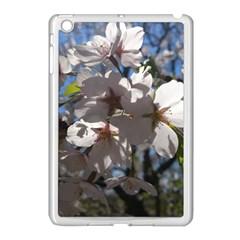 Cherry Blossoms Apple iPad Mini Case (White)