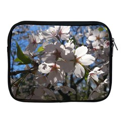 Cherry Blossoms Apple iPad Zippered Sleeve
