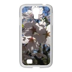 Cherry Blossoms Samsung GALAXY S4 I9500/ I9505 Case (White)