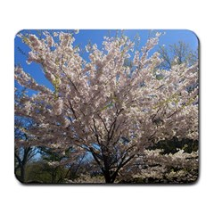 Cherry Blossoms Tree Large Mouse Pad (Rectangle)