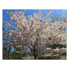 Cherry Blossoms Tree Jigsaw Puzzle (rectangle)