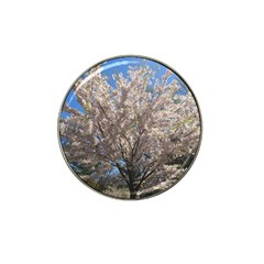 Cherry Blossoms Tree Golf Ball Marker 4 Pack (for Hat Clip)