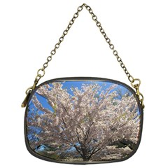 Cherry Blossoms Tree Chain Purse (One Side)