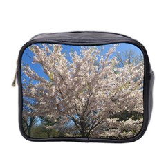 Cherry Blossoms Tree Mini Travel Toiletry Bag (Two Sides)