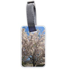 Cherry Blossoms Tree Luggage Tag (Two Sides)