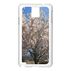 Cherry Blossoms Tree Samsung Galaxy Note 3 N9005 Case (white)