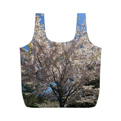 Cherry Blossoms Tree Reusable Bag (M)