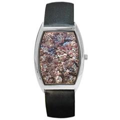 Sakura Tonneau Leather Watch