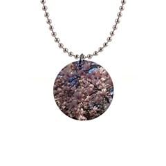 Sakura Button Necklace