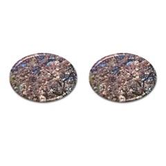 Sakura Cufflinks (oval)