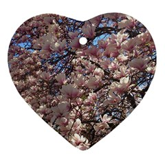 Sakura Heart Ornament (Two Sides)