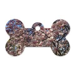Sakura Dog Tag Bone (Two Sided)