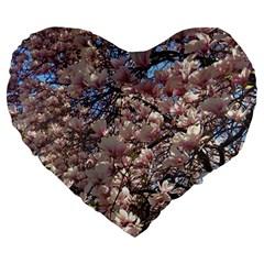 Sakura 19  Premium Heart Shape Cushion