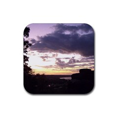 Sunset Over The Valley Drink Coasters 4 Pack (Square)