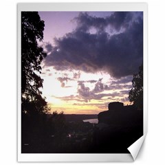 Sunset Over The Valley Canvas 16  x 20  (Unframed)
