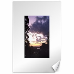 Sunset Over The Valley Canvas 24  X 36  (unframed)