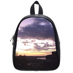 Sunset Over The Valley School Bag (Small)