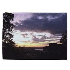 Sunset Over The Valley Cosmetic Bag (xxl)