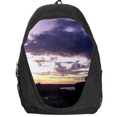 Sunset Over The Valley Backpack Bag