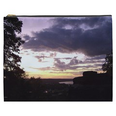 Sunset Over The Valley Cosmetic Bag (XXXL)