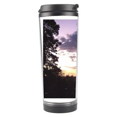 Sunset Over The Valley Travel Tumbler