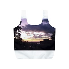 Sunset Over The Valley Reusable Bag (S)