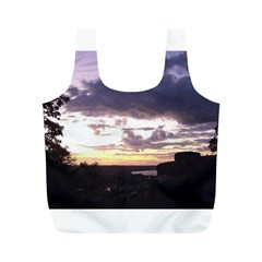 Sunset Over The Valley Reusable Bag (M)