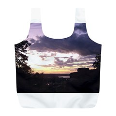 Sunset Over The Valley Reusable Bag (L)