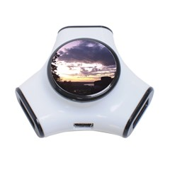 Sunset Over The Valley 3 Port USB Hub