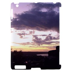 Sunset Over The Valley Apple iPad 2 Hardshell Case (Compatible with Smart Cover)